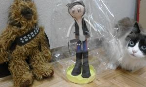 Fofucha Han solo Star Wars